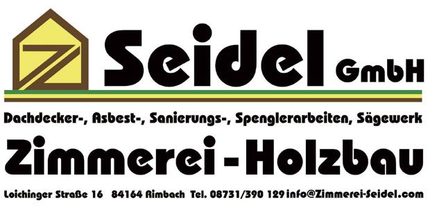 Seidel GmbH - Zimmerei - Holzbau - 84164 Rimbach f473b73dd42